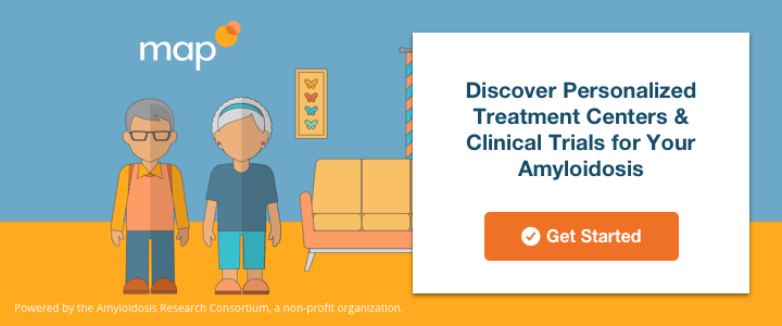Discover personalized treatment centers & clinical trials for your amyloidosis